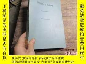 二手書博民逛書店principles罕見of auditing 20051963