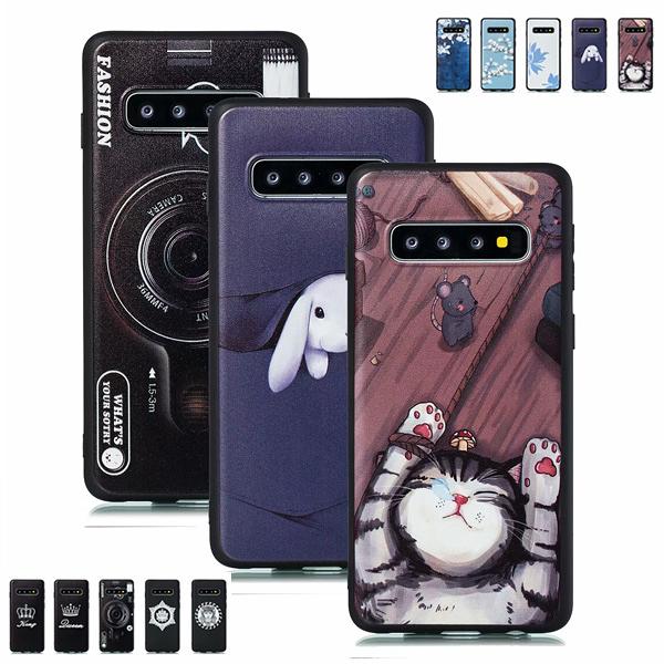 三星 S10 S10+ S10e S9 Plus GF2彩繪殼 手機殼 全包邊 可掛繩 軟殼 保護殼