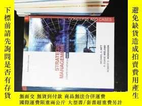二手書博民逛書店Strategic罕見Management Competitiveness and Globalization C