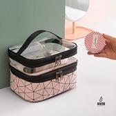 化妝包女便攜旅行大容量護膚品刷收納包盒超大洗漱包【愛物及屋】