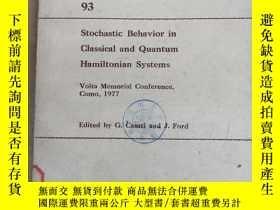 二手書博民逛書店lecture罕見notes in physics 93 stochastic behavior in class