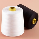 縫紉線 縫紉機線家用大卷8000碼縫衣服線402寶塔線白黑色細線鎖邊線【快速出貨八折下殺】