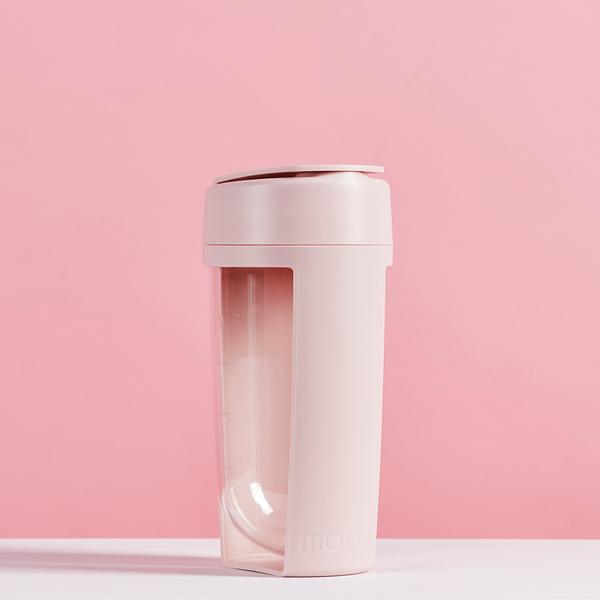 【限時特賣】澳洲MOUS Fitness 運動健身搖搖杯 - 腮紅粉 (贈送-潔淨極細海綿長柄刷)