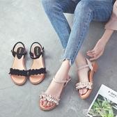 真皮拉丁舞鞋女式成人新款舞蹈鞋軟底交誼廣場舞女鞋跳舞涼鞋夏季『櫻花小屋』