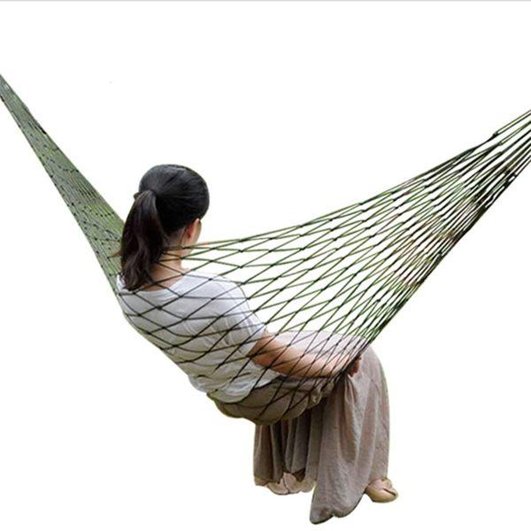 網狀吊床加厚帆布掉網床吊戶外點掉【奈良優品】