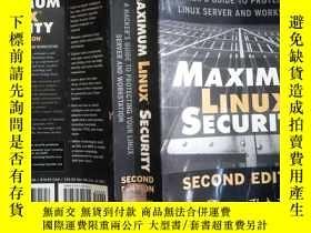 二手書博民逛書店MAXIMUM罕見LINUX SECURITYY198833