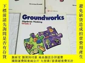 二手書博民逛書店Groundworks罕見Algebraic Thinking