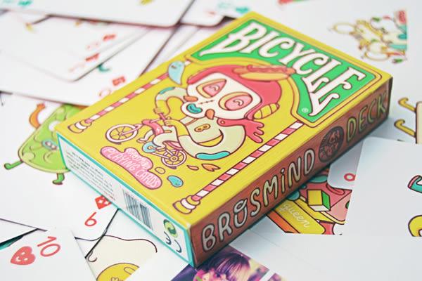 【USPCC 撲克】Bicycle brosmind 波士麥視覺設計風 撲克牌