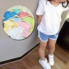 兒童男女童寶寶百搭簡約糖果色短袖上衣特價。 多色入