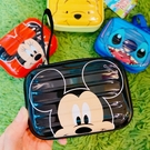 迪士尼 米奇米妮 米奇 硬殼迷你行李箱造型收納盒 收納盒 零錢盒 飾品收納盒 小物收納盒 COCOS WZ075