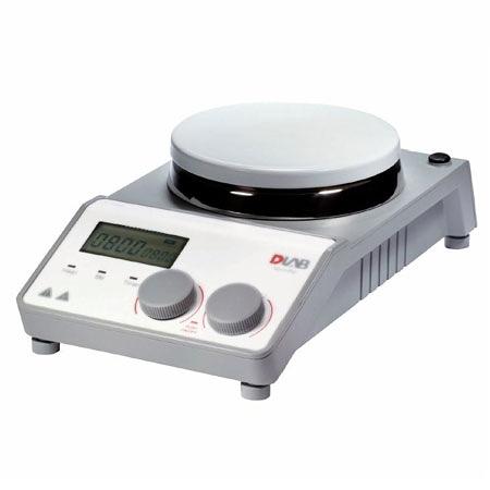 《DLAB》電磁加熱攪拌器 LCD5吋圓盤MS-H-PROT 定時型 340℃ Stirrer with Heating