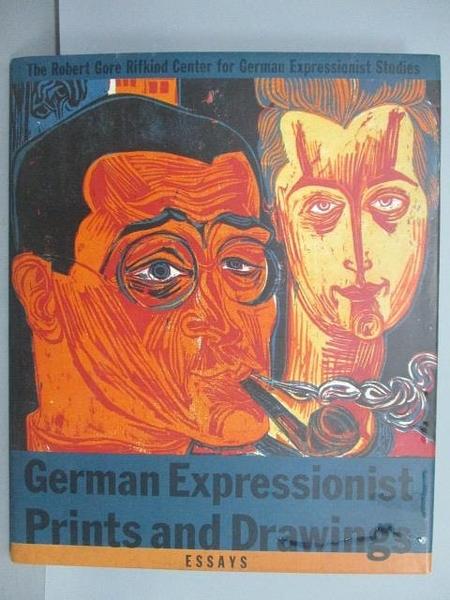 【書寶二手書T8/藝術_QAE】German Expressionist Prints and Drawings
