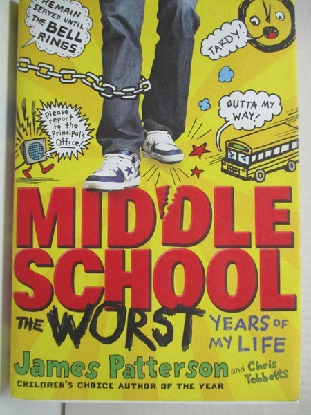 【書寶二手書T7/原文小說_GZ1】Middle School, the Worst Years of My Life_Patterson