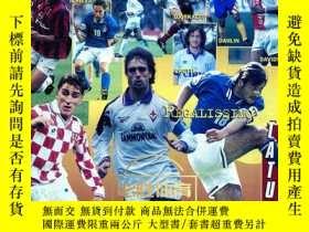 二手書博民逛書店意大利雜誌罕見足球 意甲 goal 巴喬 ac米蘭 1996 7