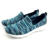 《7+1童鞋》女段  SKECHERS 15615/NVMT  輕量舒適 懶人休閒 運動鞋 B960 綠色