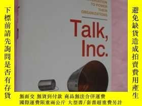 二手書博民逛書店Talk,罕見Inc.: How trusted leaders