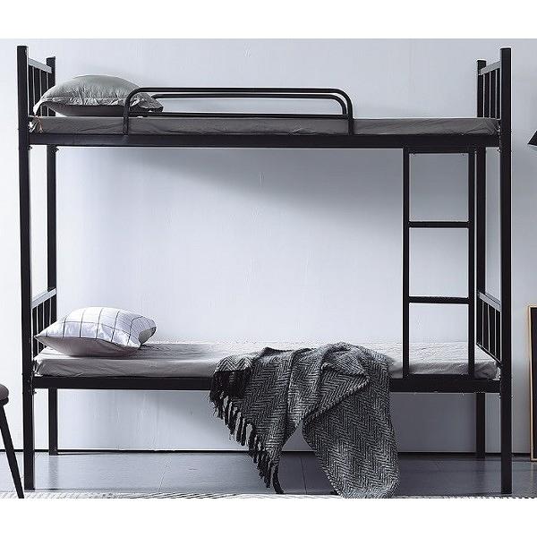 雙層床 CV-181-2 艾伯特黑色3尺雙層床  (不含床墊) 【大眾家居舘】