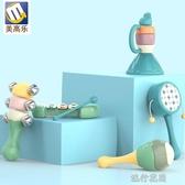 寶寶手抓玩具嬰兒玩具0-1歲寶寶搖鈴安撫兒童抓握訓練益智早教6到12月新生兒男  【快速出貨】
