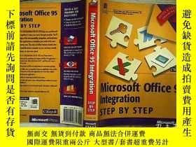 二手書博民逛書店Microsoft罕見Office 95 Integration