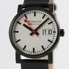 【萬年鐘錶】MONDAINE 瑞士國鐵大錶面腕錶    30mm  XM-66911SK
