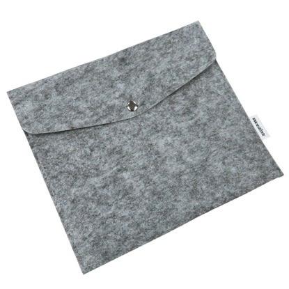 [哈GAME族]滿399免運費 WACOM 羊毛氈 保護套 收納袋 數位板 繪圖板 淺灰色款