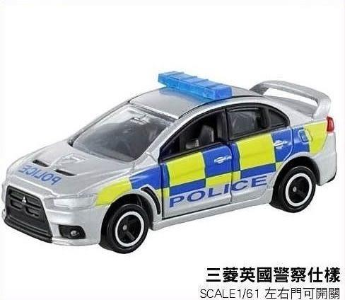 【 TOMICA多美火柴盒小汽車 】NO.39 MITSUBISHI 三菱英國警察仕樣警車