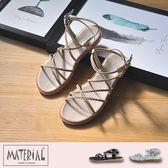 涼鞋 編織細繩造型羅馬鞋 MA女鞋 T1025