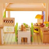 【德國 Hape&educo 愛傑卡】現代廚房組合 角色扮演 娃娃屋 居家系列