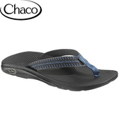 丹大戶外【Chaco】美國Flip EcoTread™男款海灘夾腳拖/人字拖鞋/室內拖鞋/ETM01 HB46 旋鈕藍帶