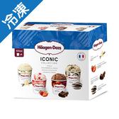 哈根達斯 迷你杯經典四入組 (100ml*4入/盒)【愛買冷凍】