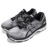 Asics 慢跑鞋 Gel-Nimbus 20 黑 銀 避震穩定 男鞋 運動鞋【PUMP306】 T800N-9790
