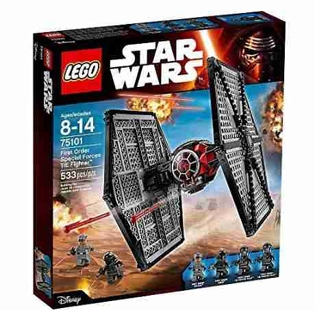 LEGO樂高 星際大戰 First Order Special Forces TIE fighter 鈦戰機 75101