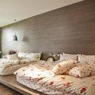 床包 / 雙人加大【玫果雪酪-兩色可選】含兩件枕套,100%精梳棉,在巴黎遇見,戀家小舖