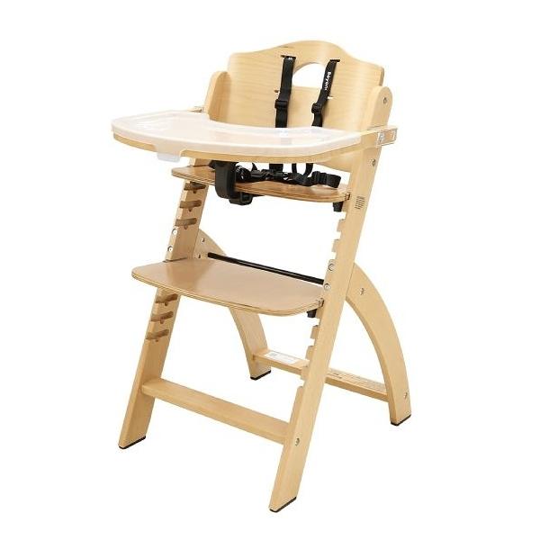 【贈4moms餐碗組】Abiie Beyond Junior Y成長型高腳餐椅-原木色 含椅墊(椅墊五色可選)