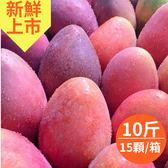 預購-坊山無毒在欉紅.愛文芒果10斤x1箱(大顆,15顆/箱)(免運宅配)