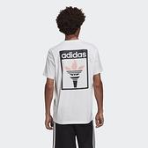 ADIDAS 短袖 短T OLYMPICS TEE 白 粉 奧運聖火LOGO 三葉草 男(布魯克林) GK5905