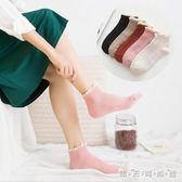 日系純棉蕾絲花邊襪公主淺口低筒短襪韓國可愛女襪子成人 晴天時尚館