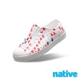 native  JEFFERSON 奶油頭鞋 小童鞋-貝殼白x小星星