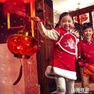 燈籠 發光仿古小宮燈新年春節古風手提燈籠 過年兒童音樂裝飾布置用品  ATF  極有家
