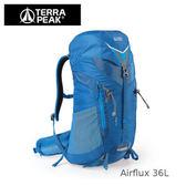 速捷戶外 英國 TERRA PEAK Airflux 36公升登山背包(藍), 多功能背包, 後背包,自助旅行背包