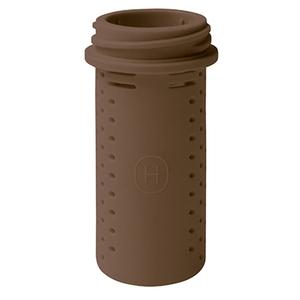美國HYDY時尚保溫瓶 泡茶器-摩卡色