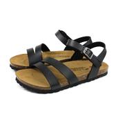 G.P 阿亮代言 涼鞋 勃肯鞋型 女鞋 黑色 W713-10 no383