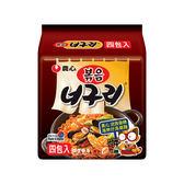 韓國 農心 浣熊香辣海鮮炒烏龍麵(137gx4包)【小三美日】團購/泡麵