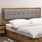 【采桔家居】諾威 時尚3.5尺亞麻布單人床頭片(二色可選+不含床底)