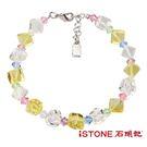 水晶手鍊-夏日冰鑽-甜蜜黃水晶 石頭記