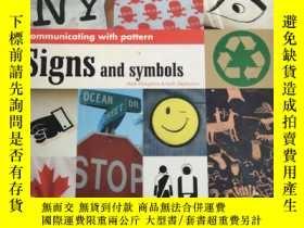 二手書博民逛書店Signs罕見and symbols:Mark Hampshire Keith Stephenson【符號和符號】