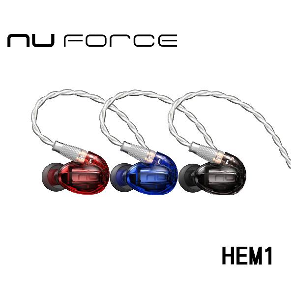 NuForce HEM1 可換線監聽級入耳式耳機