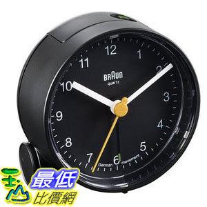[104美國直購] 旅行鬧鐘 Braun BNC001 Alarm Clock 經典復刻 現代主義風格 黑色