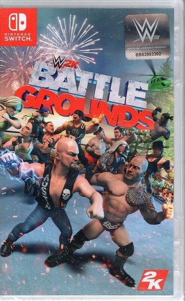 【玩樂小熊】現貨 Switch遊戲NS WWE 2K 殺戮戰場 WWE 2K Battlegrounds 中文版