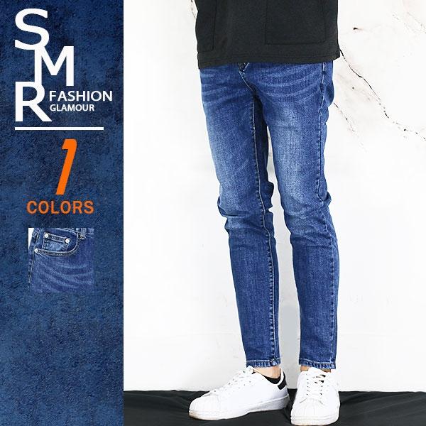牛仔褲-簡約顯瘦牛仔褲-休閒百搭顯瘦款《9998704》藍色【現貨+預購】『SMR』